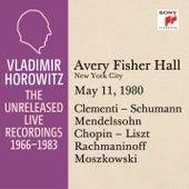 Vladimir Horowitz in Recital at Avery Fischer Hall, New York City, May 11, 1980 by Vladimir Horowitz