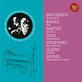 Heifetz and Piatigorksy: The Duo Collection - Heifetz Remastered by Gregor Piatigorsky