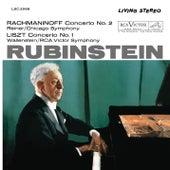 Rachmaninoff: Piano Concerto No. 2 in C Minor, Op. 18 - Liszt: Piano Concerto No. 1 in E-Flat Major, S. 124 de Arthur Rubinstein