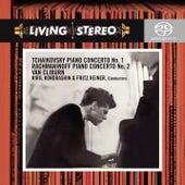 Tchaikovsky: Piano Concerto No. 1 - Rachmaninoff: Piano Concerto No. 2 de Van Cliburn
