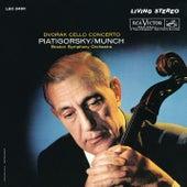 Dvorak: Cello Concerto in B Minor, Op. 104, B. 191 by Gregor Piatigorsky