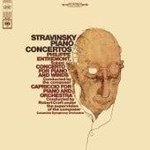 Stravinsky: Piano Concertos de Philippe Entremont