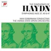 Haydn: Symphonies Nos. 37, 40 & 41 by Max Goberman