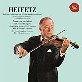 Rózsa: Violin Concerto, Op. 24 & Sinfonia concertante, Op. 29 - Benjamin: Romantic Fantasy - Heifetz Remastered de Various Artists