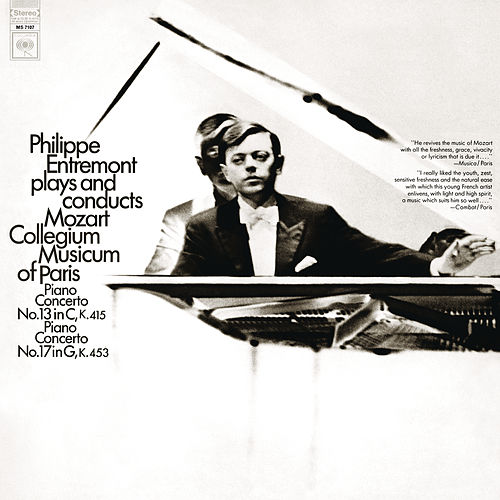 Philippe Entremont Plays and Conducts Mozart by Philippe Entremont
