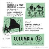 D'Indy: Symphonie sur un Chant Montagnard Français, Op. 25 & Franck: Variations symphoniques & Mozart: Piano Concerto No.21 by Charles Munch