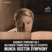 Schubert: Symphony No.2 in B-Flat Major, D. 125 - Beethoven: Die Geschöpfe des Prometheus, Op. 43 (Excerpts) by Charles Munch