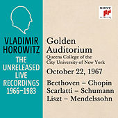 Vladimir Horowitz in Recital at Queens College, New York City, October 22, 1967 by Vladimir Horowitz