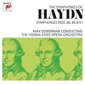 Haydn: Symphonies Nos. 48, 49 & 51 by Max Goberman