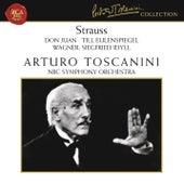 Strauss: Don Juan, Op. 20, Till Eulenspiegel, Op. 28 & Salome: Tanz der sieben Schleier - Wagner: Siegfried Idyll by Arturo Toscanini