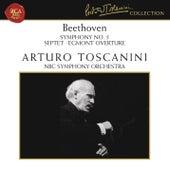 Beethoven: Symphony No. 5 in C Minor, Op. 67, Septet in E-Flat Major, Op. 20 & Egmont Overture, Op. 84 by Arturo Toscanini