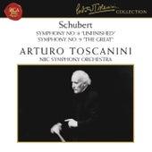 Schubert: Symphonies Nos. 8 & 9 by Arturo Toscanini