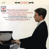 Mozart: Piano Concerto No. 22 in E-Flat Major, K. 482 & Piano Sonata No. 4 in E-Flat Major, K. 282 de Philippe Entremont