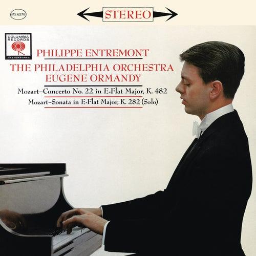 Mozart: Piano Concerto No. 22 in E-Flat Major, K. 482 & Piano Sonata No. 4 in E-Flat Major, K. 282 by Philippe Entremont