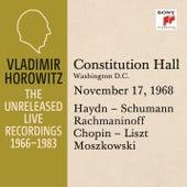 Vladimir Horowitz in Recital at Constitution Hall, Washington D.C., November 17, 1968 by Vladimir Horowitz
