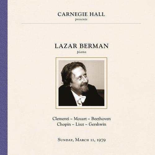 Lazar Berman at Carnegie Hall, New York City, March 11, 1979 by Lazar Berman