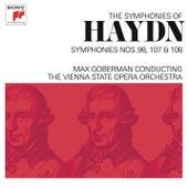 Haydn: Symphonies Nos. 98, 107 & 108 by Max Goberman