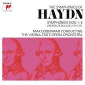 Haydn: Symphonies Nos. 1-4 & L'infedeltà delusa Overture by Max Goberman