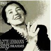 Lotte Lehmann Sings Brahms de Lotte Lehmann