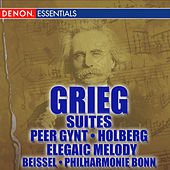 Grieg: Elegaic Melody - Holberg - Peer Gynt by Various Artists