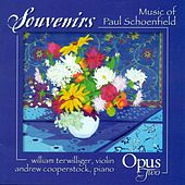 SCHOENFIELD, P.: 4 Souvenirs / Partita for Violin and Piano / 3 Country Fiddle Pieces / Cafe Music (Opus Two) by Various Artists