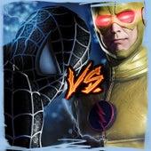 Dark Spider-Man vs the Reverse-Flash de Kronno Zomber