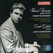 Beethoven: Piano Sonatas Nos. 4, 8 & 10 by Emil Gilels