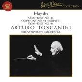 Haydn: Symphonies Nos. 88, 94 & 98 by Arturo Toscanini