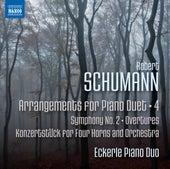 Schumann: Arrangements for Piano Duet, Vol. 4 de Eckerle Piano Duo
