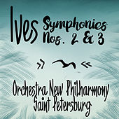 Ives: Symphonies Nos. 2 & 3 by Saint  Petersburg Orchestra New Philharmony