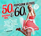 Popcorn Oldies: 50s & 60s Greatest Hits de Various Artists