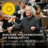 Mozart: Symphonies Nos. 39, 40 & 41 by Berliner Philharmoniker