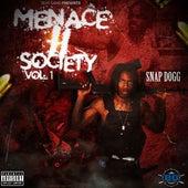 Menace 2 Society, Vol. 1 by Snap Dogg