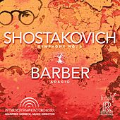 Shostakovich: Symphony No. 5, Op. 47 - Barber: Adagio for Strings, Op. 11 (Live) von Pittsburgh Symphony Orchestra