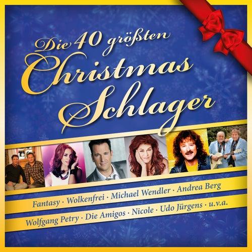 Die 40 grössten Christmas-Schlager von Various Artists