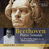 Beethoven: Piano Sonatas, Vol. 9 by Sequeira Costa