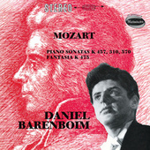 Mozart: Fantasia In C Minor, K.475; Piano Sonata No.14 In C Minor, K.457; Piano Sonata No.8 In A Minor, K.310; Piano Sonata No.16 In B Flat, K.570 de Daniel Barenboim