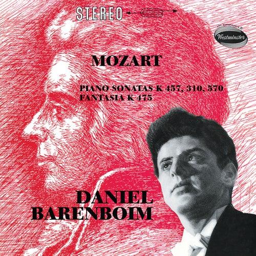 Mozart: Fantasia In C Minor, K.475; Piano Sonata No.14 In C Minor, K.457; Piano Sonata No.8 In A Minor, K.310; Piano Sonata No.16 In B Flat, K.570 by Daniel Barenboim