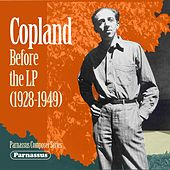 Copland Before the LP von Aaron Copland