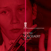 Queen Elisabeth Competition, Violin 1971: Edith Volckaert by Various Artists