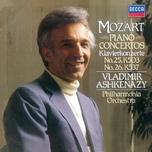 Mozart: Piano Concertos Nos. 25 & 26 by Philharmonia Orchestra