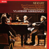 Mozart: Piano Concertos Nos. 17 & 21 von Philharmonia Orchestra