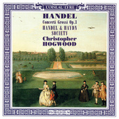 Handel: Concerti Grossi, Op.3 by Christopher Hogwood