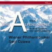 Richard Strauss: Eine Alpensinfonie; Wiener Philharmoniker Fanfare; Feierlicher Einzug by Seiji Ozawa