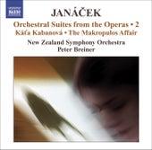 JANACEK, L.: Operatic Orchestral Suites, Vol. 2 (arr. P. Breiner) - Kat'a Kabanova / The Makropulos Affair de Peter Breiner