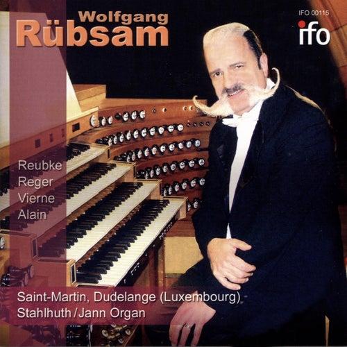 Wolfgang Rübsam in Concert (Live, Stahlhuth, Jann-Orgel, Saint-Martin, Dudelange, Luxemburg) by Wolfgang Rübsam