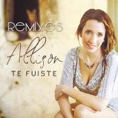 Te Fuiste (The Remixes) de Allison