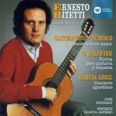 Obras de Castelnuovo-Tedesco, Halffter, García Abril de ERNESTO BITETTI