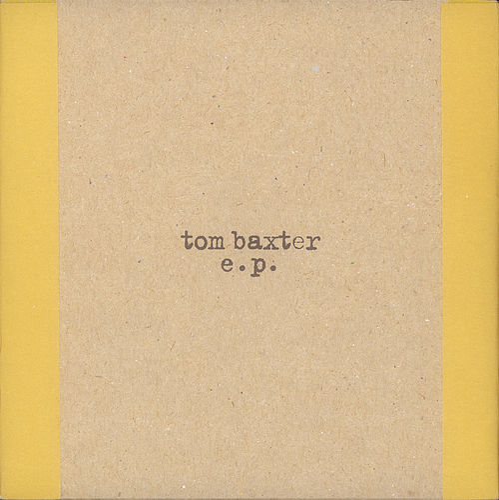 Tom Baxter EP by Tom Baxter