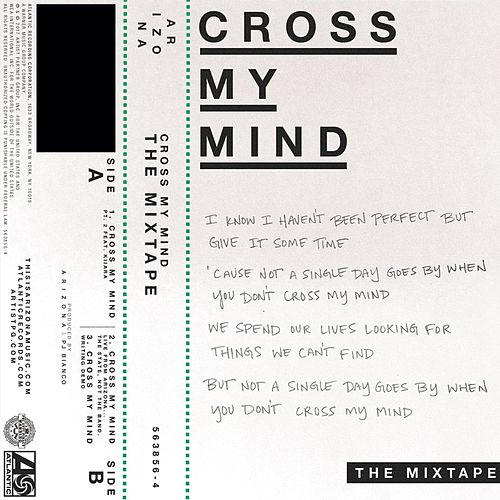 Cross My Mind Mixtape by A R I Z O N A